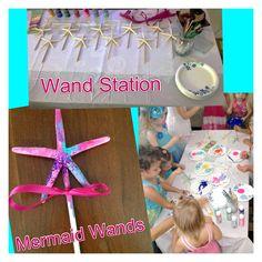 Magical Mermaid Wands- Lindy's mermaid party