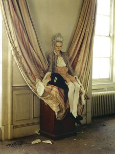 'Lady Grey' by Tim Walker for Vogue Italia, March 2010.