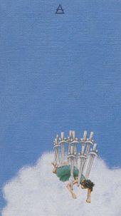 Ten of Swords - Ruin