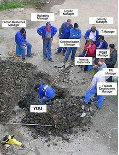 I think I've seen this crew working on the roads near my home MANY times! HA!