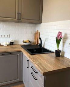 Beautiful Kitchen Designs, Modern Kitchen Design, Beautiful Kitchens, Kitchen Tiles, Kitchen Dining, Kitchen Decor, Home Room Design, Home Interior Design, Small Kitchen Solutions
