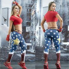 Wonder Woman Leggings