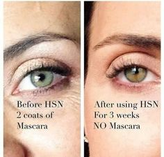 Even helps grow your lashes!  812-455-9438