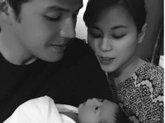 """Paul Soriano and Toni Gonzaga with baby Seve: """"No bias but for me baby Seve is the cutest baby in the world,"""" writes Toni's younger sister Alex Gonzaga. PHOTO: Instagram/Severiano Elliot"""