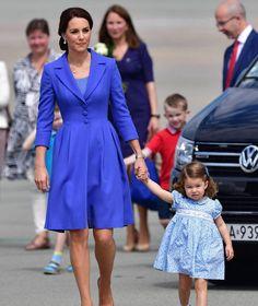 Princess Charlotte and Duchess of Cambridge 19 Jul 2017