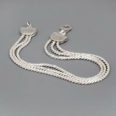 Sterling Silver Bracelet Layers - Perfect gift for mom