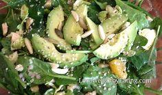 Detox Diet Salad - Crunchy Chicken with Orange Mustard Vinaigrette Dressing