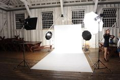 I want a portrait studio in my house! Dream house!