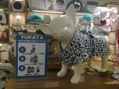 Yukata for dogs