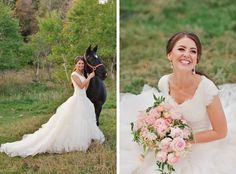 modest wedding dress with cowboy boots from alta moda.         ------                      photo: rebekah westover