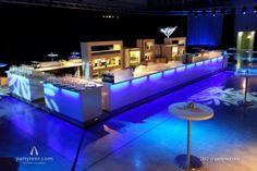 Kerstfeest Ernst & Young | Evenement verhuur door Party Rent