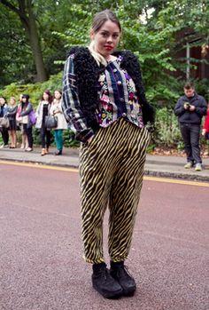 Texture Clash Street Style: October 2013