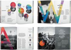 Diseño Editorial - The Design Chaser: Best Design Awards Book Design Layout, Print Layout, Creative Brochure, Brochure Design, Editorial Layout, Editorial Design, Print Design, Web Design, Identity Development