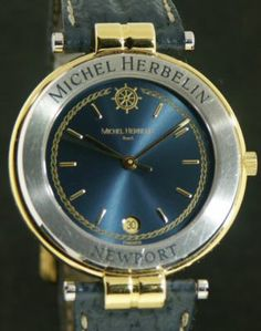 michelle herbelin watches | Michel Herbelin 231-10471 - Pre-Owned Mens Watches
