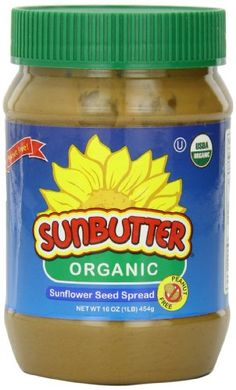 SunButter Organic Sunflower Seed Spread, 16-Ounce Plastic Jars (Pack of 3) - http://goodvibeorganics.com/sunbutter-organic-sunflower-seed-spread-16-ounce-plastic-jars-pack-of-3/
