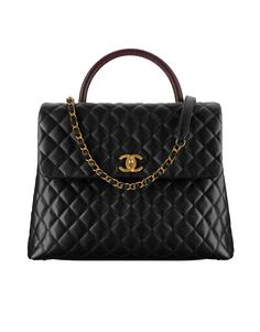 b75ba0180c9f Updated as of February 2018 Presenting the Chanel Coco Handle Bag. The Coco  Handle features a flap front with a single top handle and interlaced