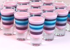 Sparkle Magic Jelly Shots