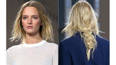 The Look: Windblown Braids at Michael Kors