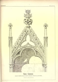 James Kellaway Colling. Plates from Colling's Gothic Ornament 1847Gothic Architectural ornaments.