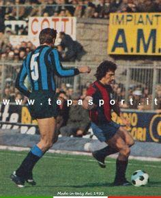 I mitici anni '70 ... Giacinto Facchetti - Giuseppe Savoldi ... C'ero anch'io ... http://www.tepasport.it/ Made in Italy dal 1952 #inter #bologna #calcio #anni70 #real #sneakers #madeinitaly