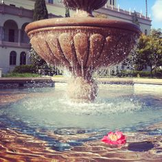 Fountain at the University of San Diego in California. Photo by Eric Embacher