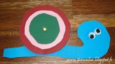 askartelua: eläimet, etana  http://ipanaaskartelua.blogspot.fi/2012/09/etana.html