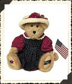 "Boyds Bears""Glory B. America"" 16"" CountryHouse Exclusive -#94390CH-NWT-2002"