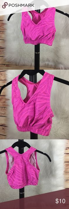 Cheer/dance sports bra and top combo Cheer/dance sports bra (size YM: youth medium) and top combo (size S: youth) Other