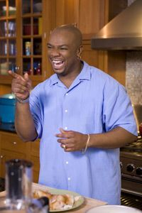 Aaron McCargo Jr: Next Food Network Star Winner Dishes on the Show Food Network Star, Food Network Recipes, Food Wishes, Black History Facts, Best Chef, Food Places, Food Shows, Black Is Beautiful, Soul Food
