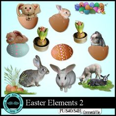Easter Elements 2 by Happy Scrap Arts