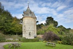 The Water Tower at Trelissick in Cornwall is about as quirky a holiday cottage as you could wish for. Four storeys high, and yet with only one room on each floor. Click to find out more.