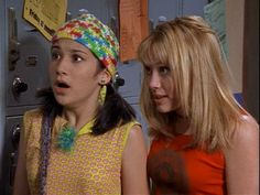 Miranda (Lalaine) & Lizzie (Hilary Duff) #LizzieMcGuire