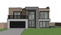 House design offers a contemporary double storey house plan. A 4 bedroom house design with bold features. Small House plans in South Africa. Double Storey House Plans, Double House, 4 Bedroom House Designs, House Plans South Africa, Modern Small House Design, Small Contemporary House Plans, 2 Storey House Design, House Plans With Photos, Model House Plan