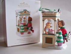 Patisserie Christmas Window Series #8.  Hallmark KOC Ornament, 2010.