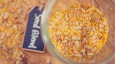 Spice and seed blend to sprinkle on salads, rice and beans, and entrées