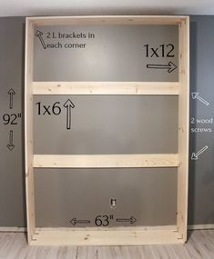 home diy Build your own murphy bed for a queen size bed. Detailed instructions and measurements to help you build it with ease! Build A Murphy Bed, Murphy Bed Plans, Queen Murphy Bed, Full Size Murphy Bed, Murphy Bed Office, Murphy Bed Desk, Cama Murphy Ikea, Camas Murphy, Murphy-bett Ikea