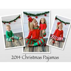 Kids Unisex Christmas Pajamas PRE-ORDER Order here and save: http://www.whitesuggar.com/Holidays/kids-unisex-christmas-pajamas-pre-order.html
