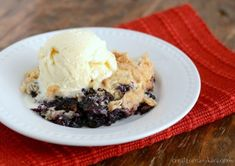 Easy to make, this Blueberry Dump Cake is always a hit!