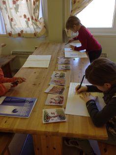 PY 2&3 Uke 12: Elevene skriver egne historier etter å ha bestemt en sekvens av bilder i gruppen sin. Mange flotte historier:) Teaching, Education, Onderwijs, Learning, Tutorials