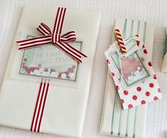 Love these vellum and sequin tags. Crate Paper blog