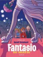 "'Fantasio se marie' cover (""Fantasio Gets Married""; 10 Film, Ex Libris, Benoit, Irish Art, Story Arc, Comic Page, Audiobooks, Ebooks, This Book"