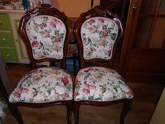 Prodám 6 ks kásných židlí, tvrdé dřevo, celé