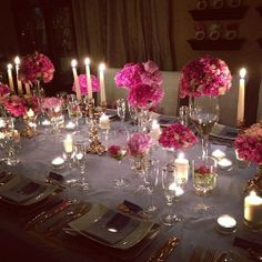 Elegant Dinner Party Table Setting TheEnVISIONFirm Contact Us Today To Plan Your Special Event 7039578848 Or Infoenvisionfirm