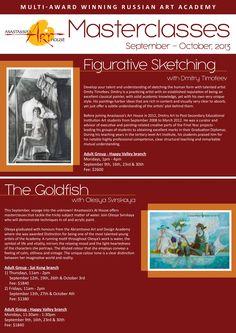 Figurative Sketching with Dmitry Timofeev / The Goldfish with Olesya Svirskaya Favorite Subject, Art Academy, October 2013, Russian Art, Goldfish, Figurative, Sketching, Knowledge, Artist