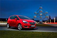 Novo Opel Meriva estreia no Salão de Bruxelas