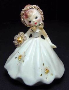 Josef Originals - NOVEMBER California Doll Of The Month/ tilthead Beautiful Christmas Decorations, Holiday Decor, Birthday Angel, Porcelain Dolls Value, Bday Girl, Shabby, Collectible Figurines, Vintage Cards, Antique Dolls