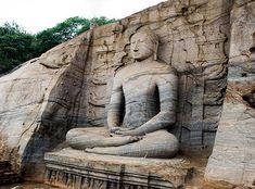 Polonnaruwa Gal Viharaya, Sri Lanka