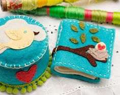 How to - Pincushion and Needle Book by Kendra McCracken - 2fiskars