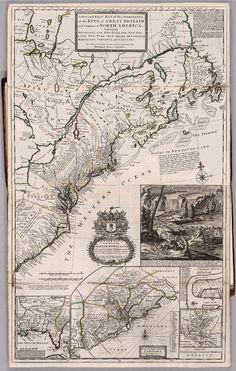Map, Kingston, Ontario, David Rumsey, 1715,