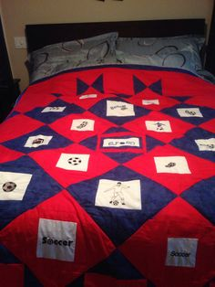 Quilt made for jimmy